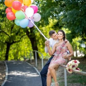 Baloane cu heliu sedinta foto