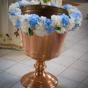 Decor cristelnita botez baiat