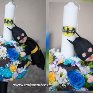 Lumanare botez Batman