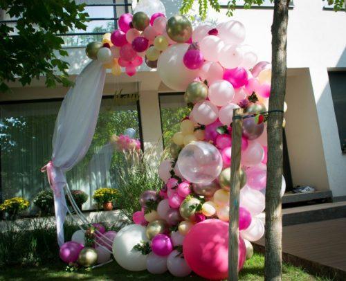 Arcada_baloane_botez-nuante-roz
