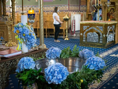 Lumanare_botez_cristelnita-hortensie-albastra