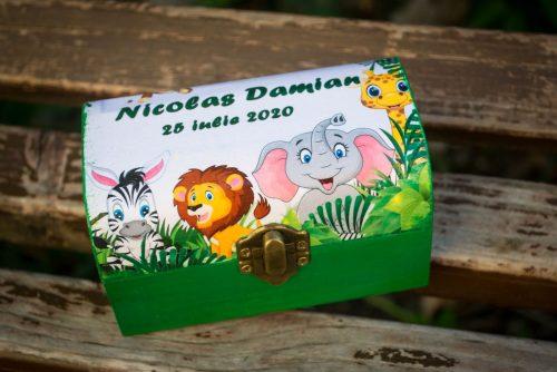 Set mot cu tema animalele junglei