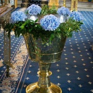 aranjament-cristelnita-hortensie-bleo-albastra