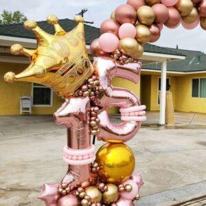 Arcada-de-baloane-petrecere-aniversara-petrecere-majorat-decoratiune-arcada-baloane-cromate