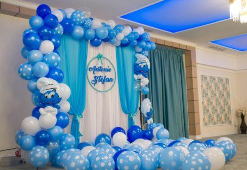 arcada-baloane-botez-decor-baloane-photo-crner-baloane-strumf-strumfii