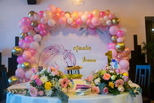 arcada-baloane-botez-petrecere-anivarsare-unicorni