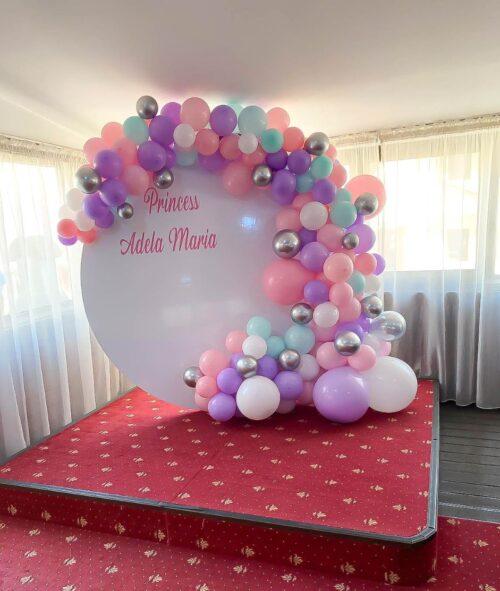 arcada-baloane-decor-baloane-botez-petrecere-fetita