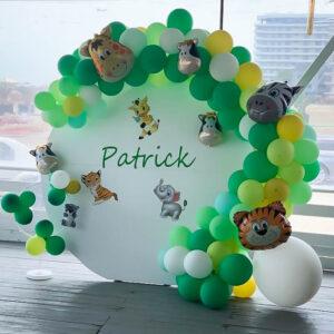 decor-aranjament-photo-corner-baloane-petrecere jungla-safari