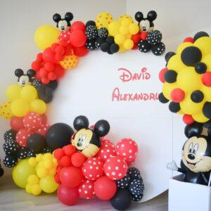 Panou_decor_baloane_cu_Mickey_mouse