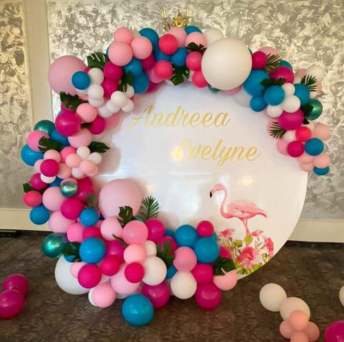 decor-baloane-petrecere-flamingo